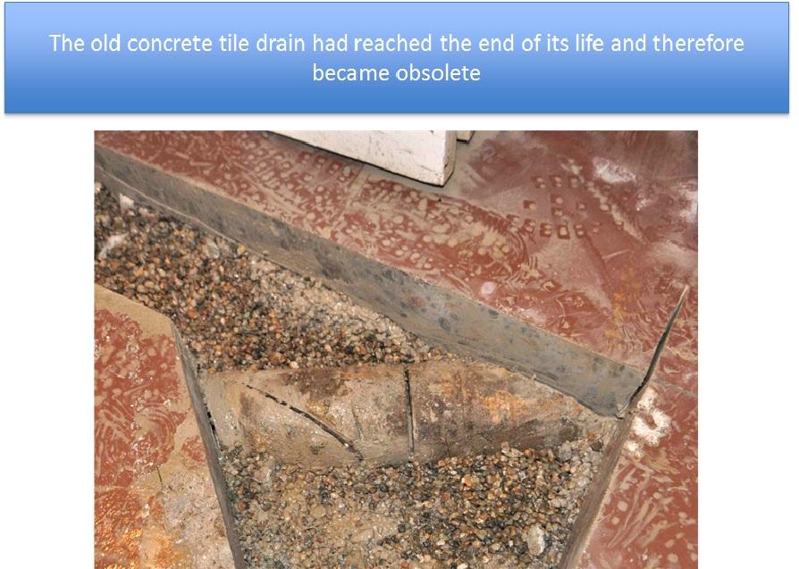 Old Concrete Drain