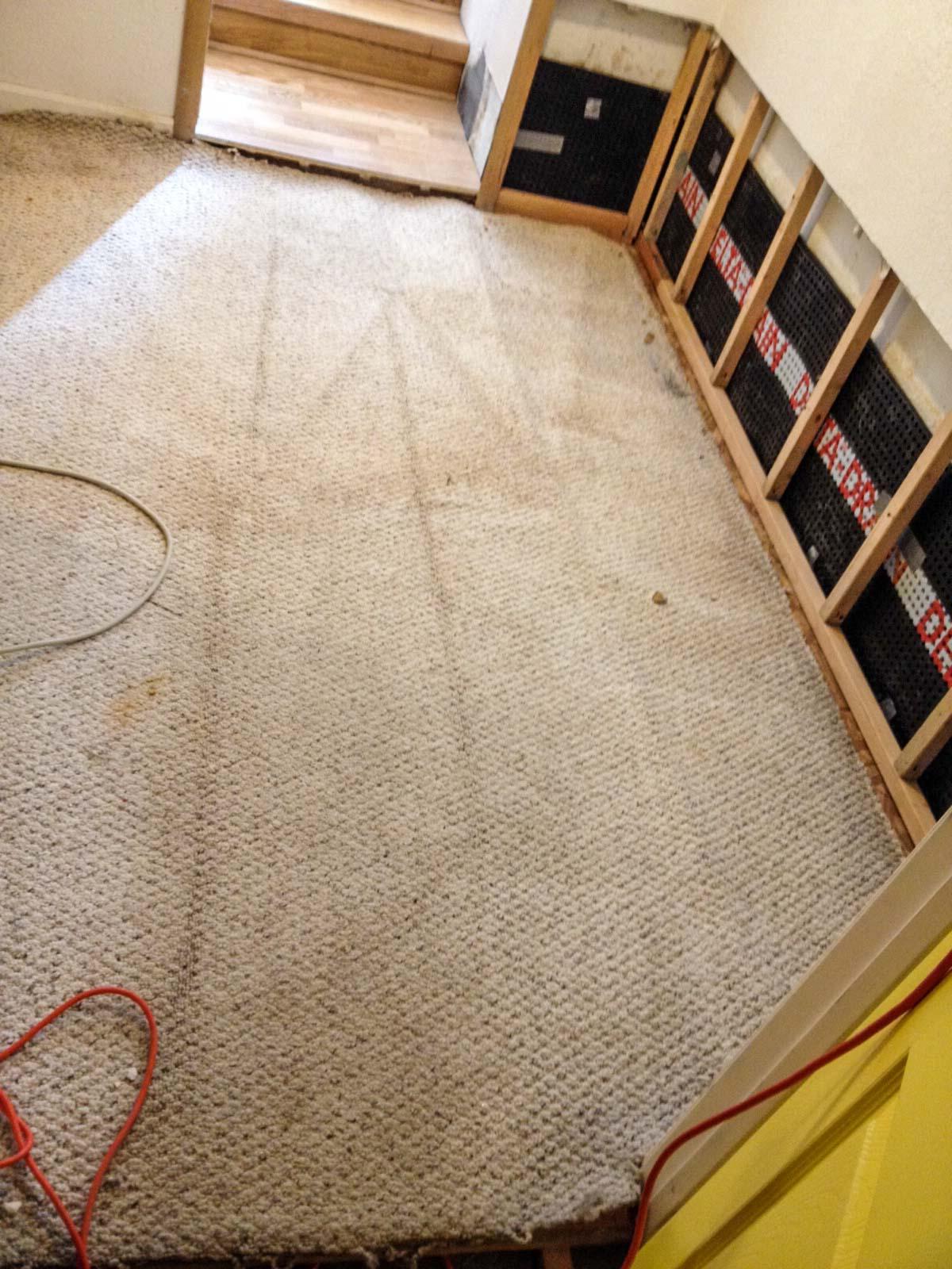 Interior Basement Waterproofing Complete
